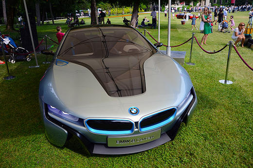 bmw i8 concept front view