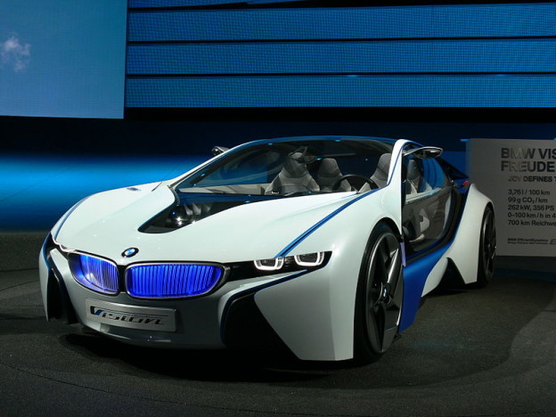 BMW i8 vision efficient dynamics concept