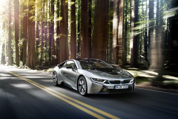 2014-BMW-i8-driving-on-a-road