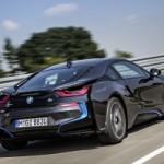 Black-2014-BMW-i8-rear-view